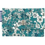 Multi card holder celadon violette - PPMC