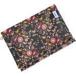 Compact wallet ochre bird - PPMC
