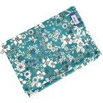 Compact wallet celadon violette - PPMC