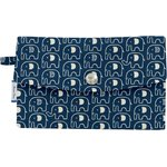Wallet blue elephant - PPMC