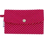 Wallet fuchsia gold star - PPMC