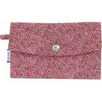 Portefeuille lichen prune rose - PPMC