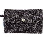 Wallet noir pailleté - PPMC