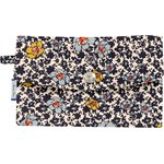 Wallet ochre flower - PPMC