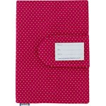 Health book cover fuchsia gold star - PPMC