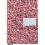 Protège carnet de santé lichen prune rose - PPMC