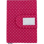 Health book cover fuschia spots - PPMC