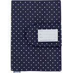 Health book cover navy blue spots - PPMC