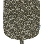 Flap of small shoulder bag foliage - PPMC