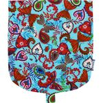 Flap of little shoulder bag azure butterfly - PPMC