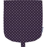 Flap of small shoulder bag plum spots - PPMC