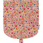 Flap of small shoulder bag pink meadow - PPMC