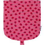 Flap of small shoulder bag ladybird gingham - PPMC