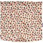 Square flap of saddle bag  watercolor confetti - PPMC