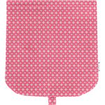 Flap of saddle bag small flowers pink blusher - PPMC