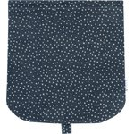 Flap of saddle bag silver star jeans - PPMC
