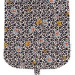 Flap of saddle bag ochre flower - PPMC