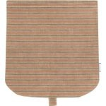 Flap of saddle bag bronze copper stripe  - PPMC