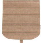 Tapa de bolso cruzado rayado broncea cobrizo - PPMC