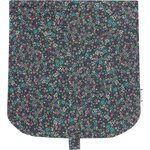 Flap of saddle bag green azure flower - PPMC
