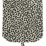 Flap of saddle bag leopard print - PPMC
