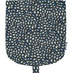 Flap of small shoulder bag parts blue night - PPMC