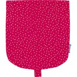 Flap of small shoulder bag etoile or fuchsia - PPMC