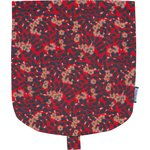 Flap of small shoulder bag vermilion foliage - PPMC