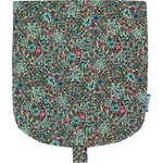 Flap of small shoulder bag flower mentholated - PPMC