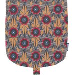 Flap of small shoulder bag fleurs de savane - PPMC