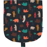 Flap of small shoulder bag grizzly - PPMC