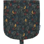 Flap of small shoulder bag jungle party - PPMC