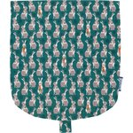 Flap of small shoulder bag bunny - PPMC