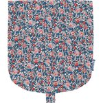 Flap of small shoulder bag flowered london - PPMC