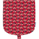 Flap of small shoulder bag paprika petal - PPMC