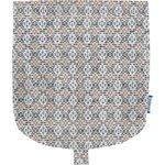 Flap of small shoulder bag  pointillé bleu cuivré - PPMC