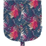 Flap of small shoulder bag tropical fire - PPMC