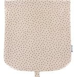 Flap of saddle bag pink coppers spots - PPMC