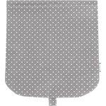 Flap of saddle bag light grey spots - PPMC
