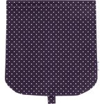 Flap of saddle bag plum spots - PPMC