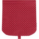 Flap of saddle bag red spots - PPMC