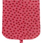 Flap of saddle bag ladybird gingham - PPMC