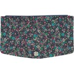 Flap of fashion wallet purse green azure flower - PPMC