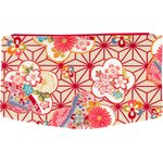 Flap of fashion wallet purse flowers origamis  - PPMC