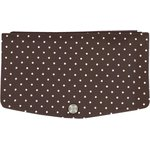 Flap of fashion wallet purse brown spots - PPMC