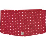Flap of fashion wallet purse red spots - PPMC