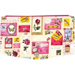 Flap of fashion wallet purse postal - PPMC
