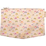 Flap of shoulder bag rainbow - PPMC