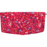 Flap of shoulder bag cherry cornflower - PPMC