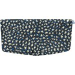 Flap of shoulder bag parts blue night - PPMC